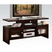 Espresso Folding TV Stand Product Image