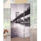 BRIDGE SCENERY WOODEN SCREEN Product Image