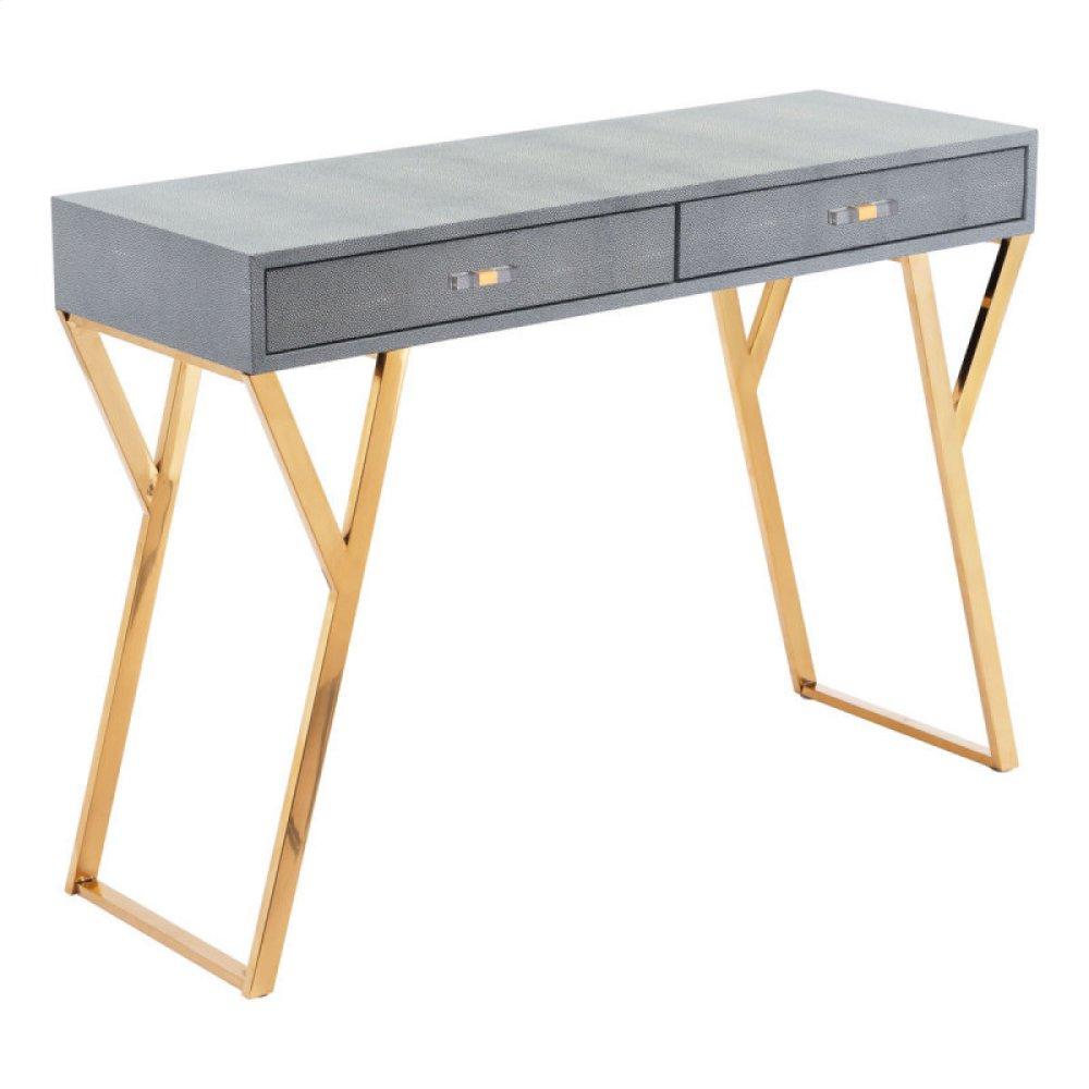 Asti Console Table Gray