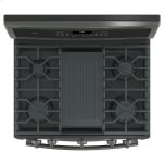 "GE Profile 30"" Free-Standing Gas Double Oven Convection Range"