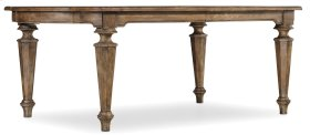 Dining Room Solana Rectangle Dining Table w/2-18in Leaves
