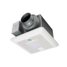 WhisperSense® DC Fan/LED Light, 50-80-110 CFM
