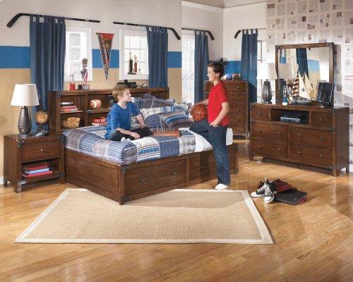Delburne - Medium Brown 2 Piece Bedroom Set