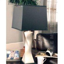 Polyresin & Glass Table Lamp
