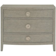 Linea Bachelor's Chest in Cerused Greige (384)