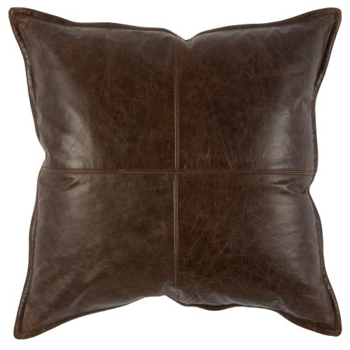 SLD Leather Parsons Cocoa 22x22