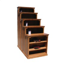 "Traditional Alder 36"" Standard Bookcase"