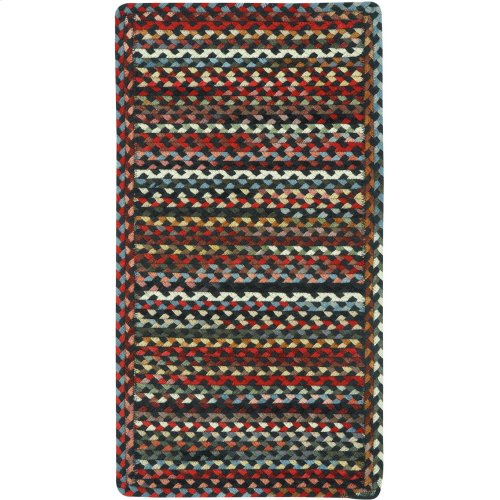 Plymouth Black Braided Rugs (Custom)