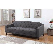 Traditional Dark Grey Sofa Bed
