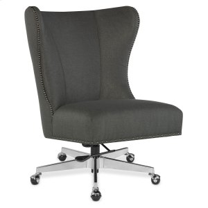 Hooker FurnitureHome Office Juliet Executive Swivel Tilt Chair w/ Metal Base