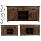 "Cannon Valley 70"" Media Unit Product Image"