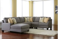 Chamberly 4 Pc RAF Sectional w/LAF Chaise