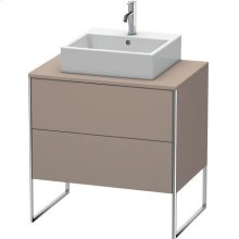 Vanity Unit For Console Floorstanding, Basalt Matt (decor)