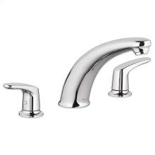 Colony Pro Deck-Mount Bathtub Faucet - Polished Chrome