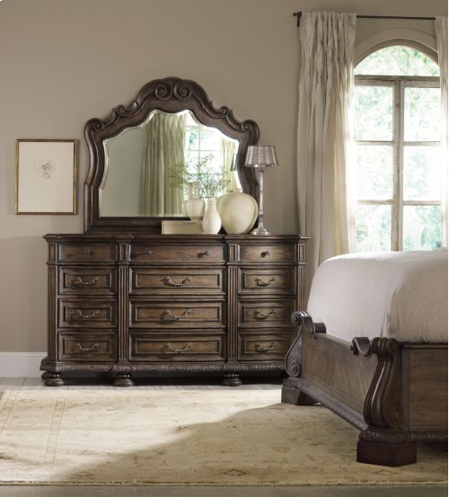Bedroom Rhapsody Twelve Drawer Dresser