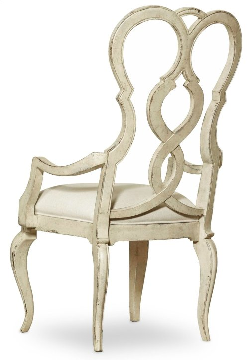 Dining Room Auberose Upholstered Splatback Arm Chair