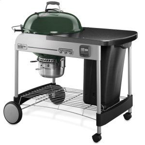 WeberPERFORMER(R) PREMIUM CHARCOAL GRILL - 22 INCH GREEN