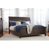 Trudell - Dark Brown 3 Piece Bed Set (King/Cal King)