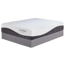 13 Inch Import Innerspring - White 2 Piece Mattress Set
