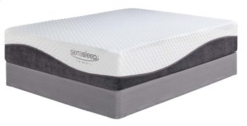 13 Inch Import Innerspring - White 2 Piece Mattress Set Product Image