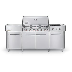 WeberSUMMIT® GRILL CENTER LP GAS - STAINLESS STEEL