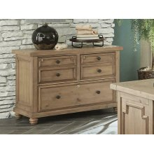 Florence Rustic File Cabinet