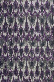 "Allure 4058 Grey/purple Horizon 2'3"" X 7'6"" Runner"