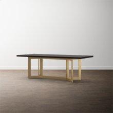 """MODERN 108"""" Oak Astor Table"""