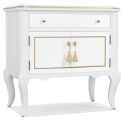 Bedroom Mystique One-Drawer Two Door-Nightstand Product Image