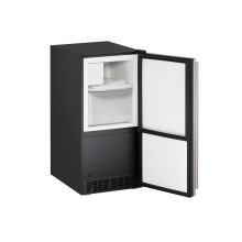 "Ada Series 15"" Crescent Ice Maker With Stainless Solid Finish and Field Reversible Door Swing (115 Volts / 60 Hz)"