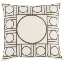 "Luxe Pillows Geo Fretwork (23"" x 23"")"