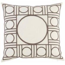 "Luxe Pillows Geo Fretwork (23"" x 23"")"
