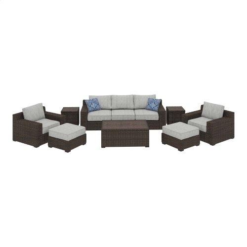 Alta Grande - Beige/Brown 8 Piece Patio Set