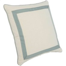 "Custom Decorative Pillows Mitered Tape Picture Frame (23"" x 23"")"