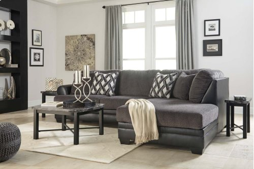 Kumasi - Smoke 2 Piece Sectional