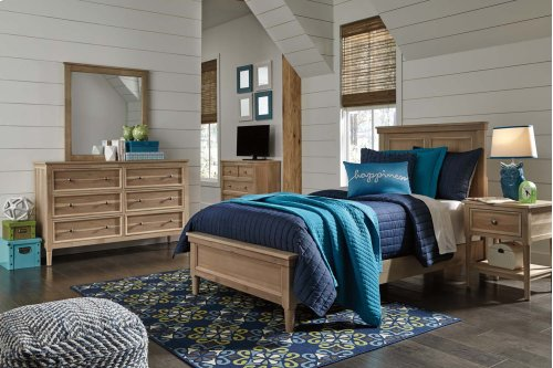 Klasholm - Light Brown 2 Piece Bedroom Set