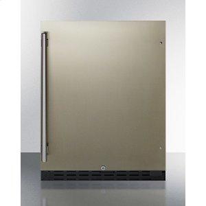 "Summit24"" Wide Built-in All-refrigerator, ADA Compliant"