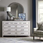 Bella 9 Drawer Stone Top Dresser Product Image