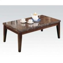 Black Marble Top Coffee Table