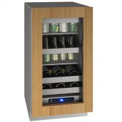 """18"""" Beverage Center With Integrated Frame Finish and Field Reversible Door Swing (115 V/60 Hz Volts /60 Hz Hz)"""
