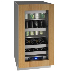 "U-Line18"" Beverage Center With Integrated Frame Finish and Field Reversible Door Swing (115 V/60 Hz Volts /60 Hz Hz)"