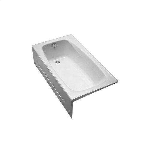 Enameled Cast Iron Bathtub 59-3/4 - Cotton