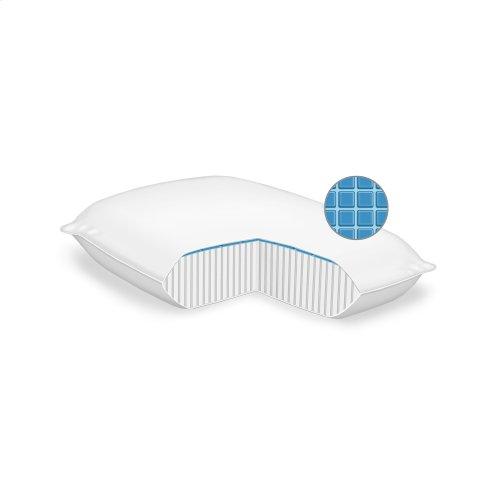 Sleep Chill Gel Memory Foam Pillow, King