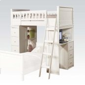 KIT - WHITE LOFT BED