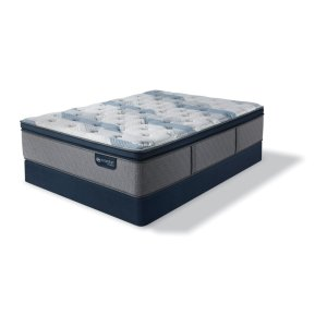 SertaiComfort Hybrid - Blue Fusion 300 - Plush - Pillow Top - Full