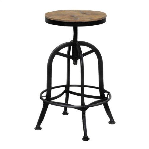 Akron Round Bar Stool