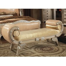 Bellevue Leather Bench