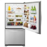 Whirlpool 30-inches wide Bottom-Freezer Refrigerator with SpillGuard Glass Shelves - 18.7 cu. ft.