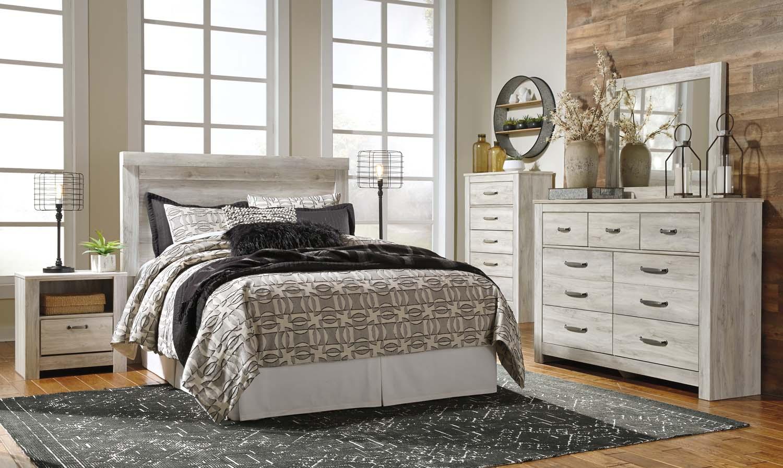 Bellaby   Whitewash 2 Piece Bedroom Set