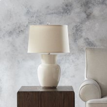 Roswell Table Lamp Eggshell